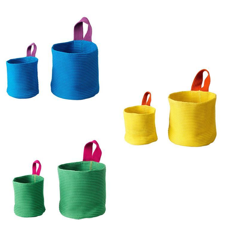 ikea aufbewahrung k rbe stickat 2er set in 3 farben ebay. Black Bedroom Furniture Sets. Home Design Ideas