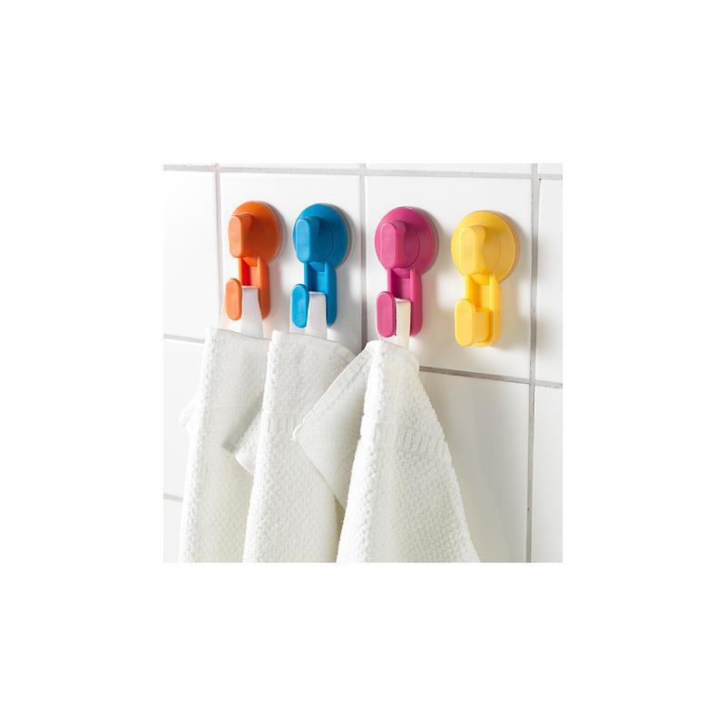 IKEA Crochet STUGVIK multicolore 4 Piu00e8ces avec ventouse ...