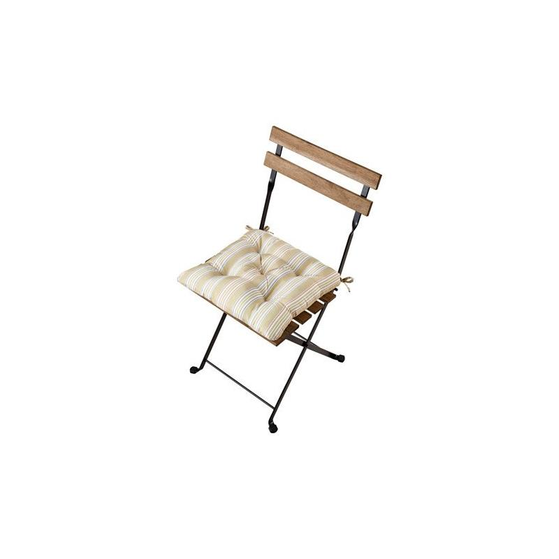 Ikea chaise de jardin taernoe acacia avec coussin de si ge - Ikea chaise de jardin ...