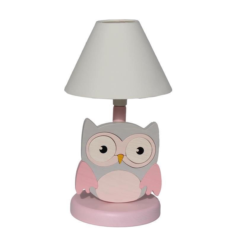 Vama design bambini lampada da tavolo gufo procione co for Lampada da tavolo design legno