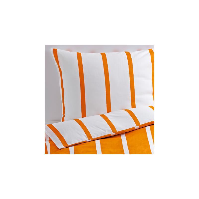 Ikea ropa de cama tuvbr cka naranja blanco rayado tres tallas - Ropa de cama en ikea ...