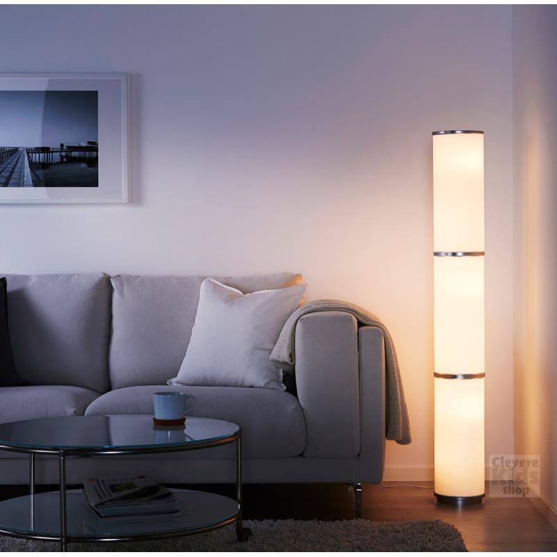 Ikea piantana vidja 138 cm bianco piantana a for Piantana ikea