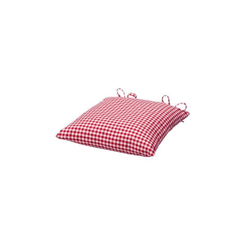 Ikea stuhlkissen vinter rot wei kariert landhausstil ebay - Stuhlkissen ikea ...