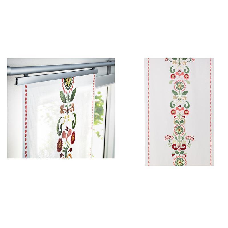 Ikea cortina de panel akerkulla cortina de superficie - Cortinas estilo rustico ...