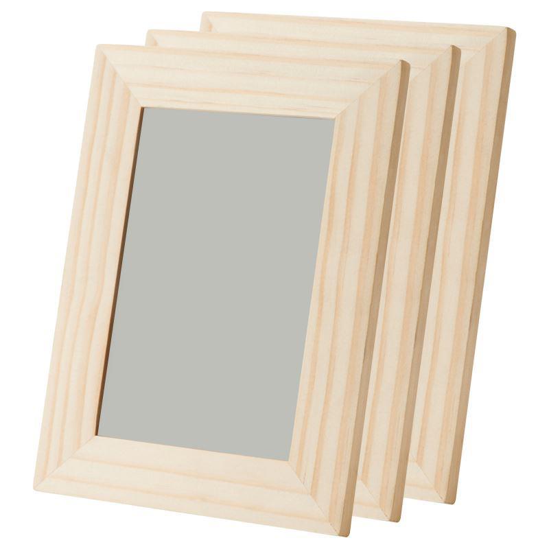 IKEA Bilderrahmen ALBRUNNA 10 x 15 cm Set 2 Stück Kiefer unbehandelt ...