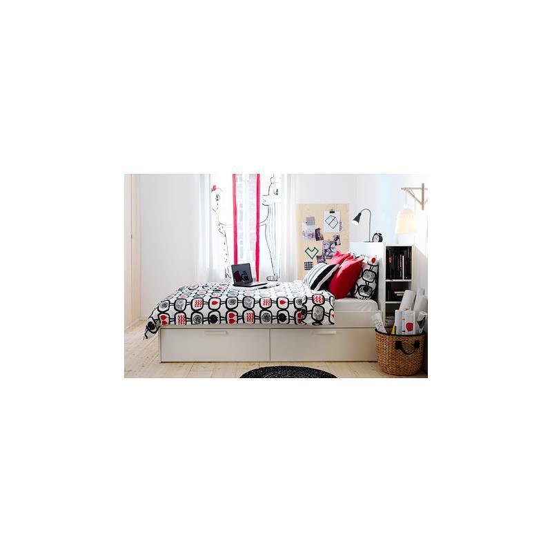 ikea linge de lit ngssk ra trois tailles ebay. Black Bedroom Furniture Sets. Home Design Ideas