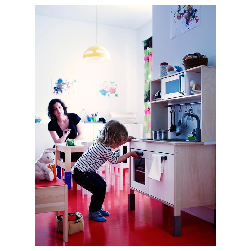 ikea spielk che duktig kinderk che mit oberteil ebay. Black Bedroom Furniture Sets. Home Design Ideas