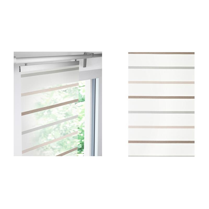 Ikea Schiebegardinen Montage ikea schiebegardine finvicker flächenvorhang grau braun transparent
