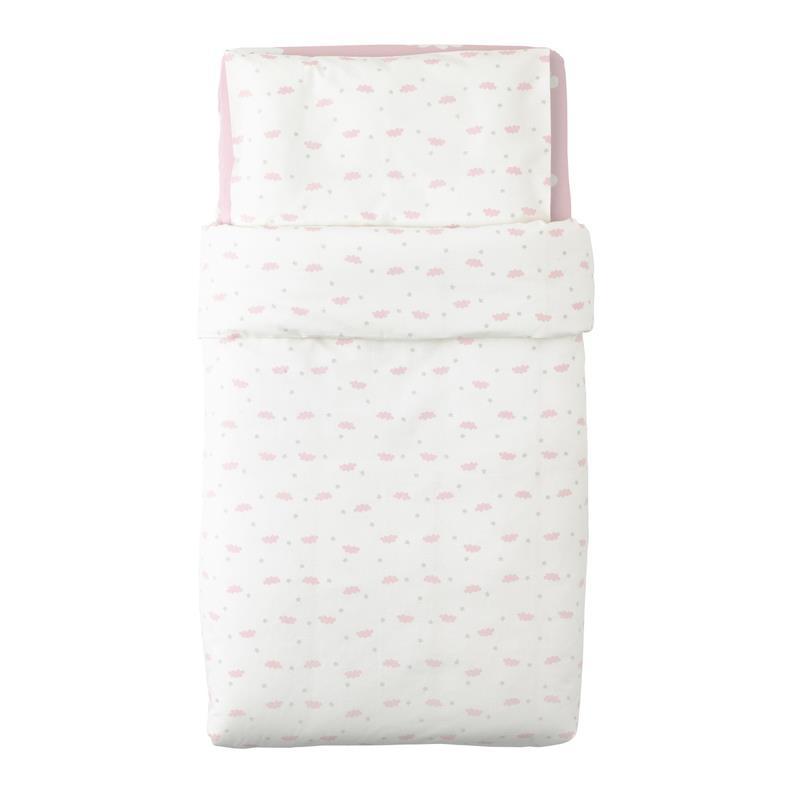 Ikea Baby Bettwäsche Set Himmelsk 3 Teilig In 2 Farben Ebay