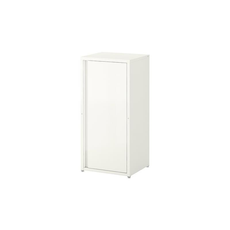 Schrank weiß ikea  IKEA Schrank JOSEF Stahl verzinkt für drinnen und draußen ...