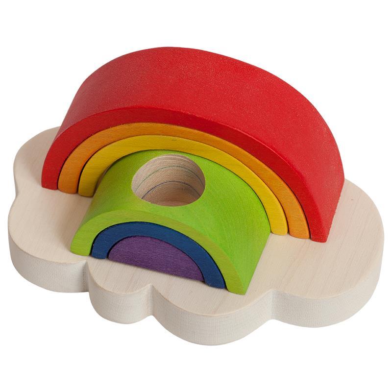 Clevere Kids Milchzahndose Regenbogen Rainbow