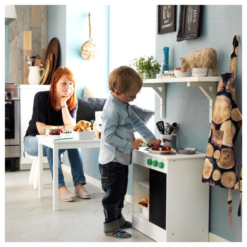 ikea spielk che nybakad holz kinderk che ebay. Black Bedroom Furniture Sets. Home Design Ideas