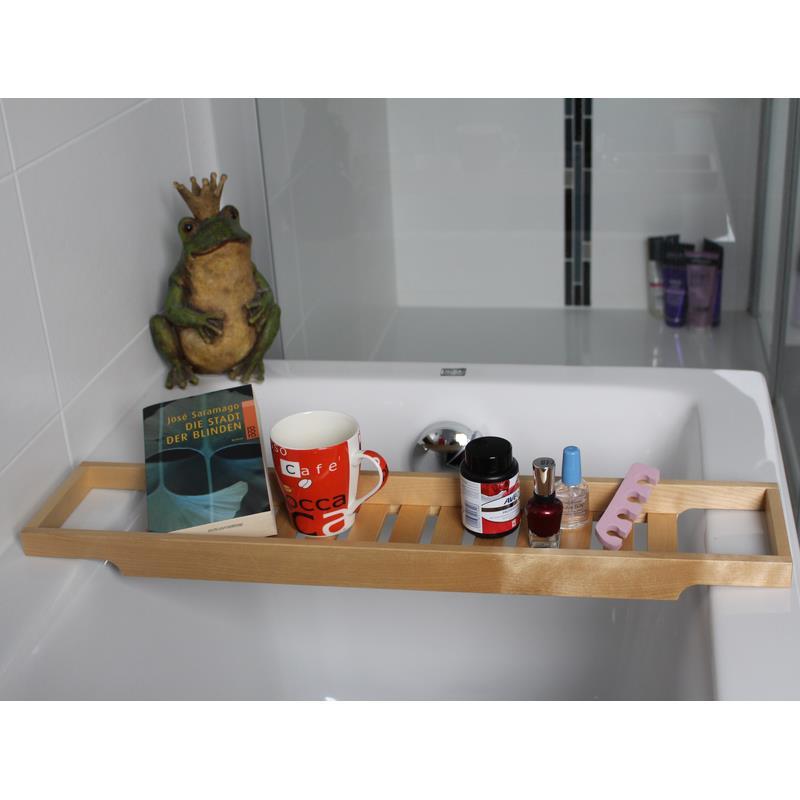 Ikea supporto per bagno vassoio del bagno ponte da vasca - Vasca da bagno legno ...