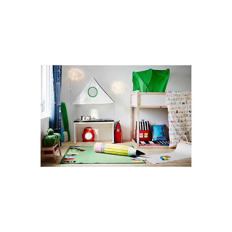 ikea betthimmel baldachin halbiglu in 2 farben ebay. Black Bedroom Furniture Sets. Home Design Ideas